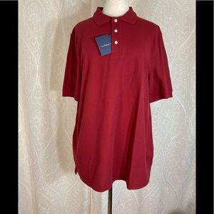 NWT Croft & Barrow Men's Short Sleeve Polo